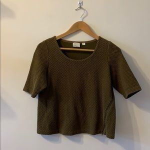 Anthropologie Textured Top